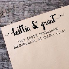 Return Address Self Inking Stamp, Wedding Return Address Self Inking Stamp, Custom Address Stamp - 042 by IntricutCreations on Etsy