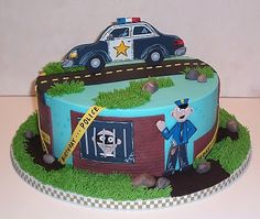 The Icing on the Cake: Cops and Robbers