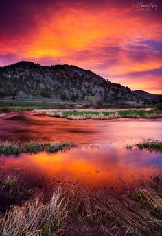 ~~Visions of Sunrise | Bear Lake Road, Rocky Mountain National Park, Colorado | by Sathish J~~
