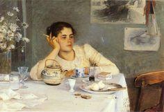 Por amor al arte: Heroínas, pintoras Después del desayuno, de Elin Danielson-Gambogi