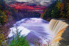 Tahquamenon Falls State Park by Jlan, via 500px  #Michigan #Photography
