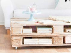 Tutoriel DIY: Fabriquer une table basse en palettes via DaWanda.com