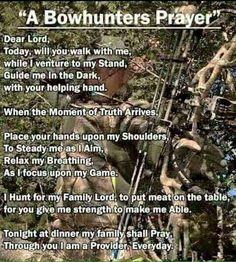 A Hunters Prayer