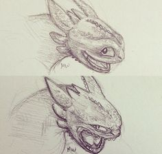 Toothless's moods
