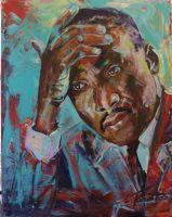I have a dream...... Acryl auf Leinwand  80 x 100 cm