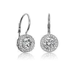 Ziva Vintage Diamond Earrings