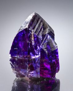 Tanzanite. Discovered in 1967 in the foothills of Mount Kilimanjaro. The mineral was named by Tiffany & Co. after the country in which it was discovered, Tanzania.