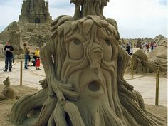Sand Sculptures at WomansDay.com - Cool Sand Art and Sandcastles - Woman's Day