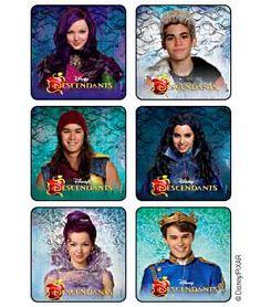 Disney's Descendants Stickers   Kids Love Stickers from MediBadge