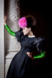Sainte-Nitouche-Guia-Besana 2013 Schiaparelli collection by Christian Lacroix