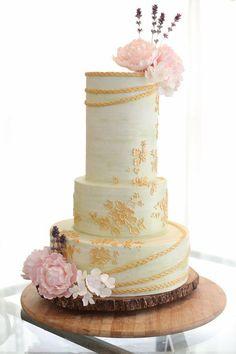 #Cake #Amazing #Wedding #Flowers #Lace