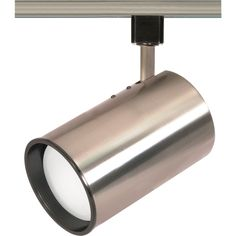 NUVO TH363 | 1-Light CFL R30 Straight Cylinder Track Lighting Head | NUVO Lighting