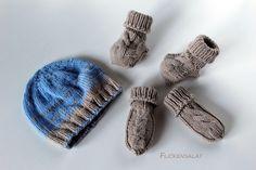 Stricken, Baby Booties, Handschühe und Mütze