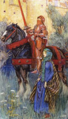 Eleanor Fortescue Brickdale - The Rusty Knight