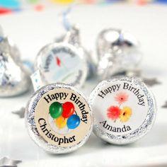 Personalized Birthday Hershey's Kisses