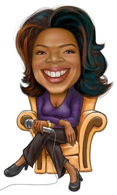 Oprah Winfrey by clapano.deviantart.com