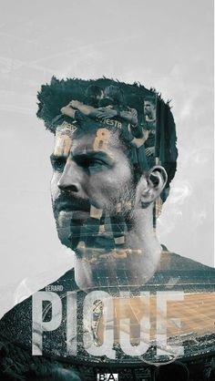 Spectacular wallpaper for FC Barcelona player Gerrard Pique ^_^