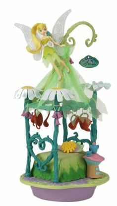 Tinker Bells Fix-it Corner Playset by Playmates. $100.00. From the Manufacturer                Inside Tinker Bell's hideaway, you'll discover everything you need to make a dainty bracelet!  Stamp designs and hang cool charms on ribbon bracelet!  Pose Tinker Bell on her canopy bed!  You may have a fixing-talent too, just like Tinker Bell!                                    Product Description                Beautifully rendered artwork on the plastic facades & colle...