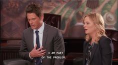 Chris Traeger arrives at an important part in the development of a male feminist