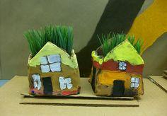 Hundertwasser Clay houses