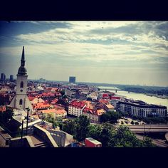View from the Bratislava Castle (by jetsetterlass)