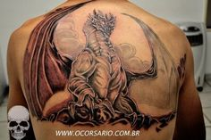Medieval Dragon Tattoos | Medieval Dragon. Ohhhh love this and boy what work this person did. A masterpiece.