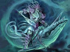Poseidon (Neptune) Greek God riding a whale - Art Picture Greek Gods And Goddesses, Greek Mythology, Mythological Creatures, Mythical Creatures, Mythological Characters, Sea Creatures, Fantasy Characters, Whale Rider, Greek Sea