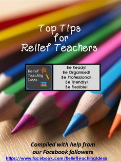 Sharing ideas to help make relief teaching fun, enjoyable, and meaningful. Teaching Supplies, Teaching Tools, Teacher Resources, Teaching Ideas, Teaching Strategies, Teaching Materials, Primary Teaching, Teaching Time, Relief Teacher