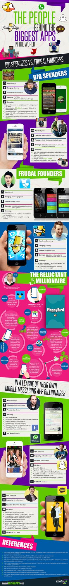 Infographic Ideas infographic messaging apps : Top 10 Most Popular Instant Messaging Apps #infographic   Digital ...