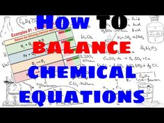 balancing chemical equations instructions