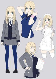More memes, funny videos and pics on Manga Girl, Chica Anime Manga, Anime Girl Drawings, Manga Drawing, Kawaii Anime Girl, Anime Art Girl, Anime Girls, Anime Style, Manga Posen