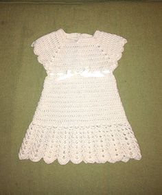 Crocheted Baby Heirloom Christening Gown  infant by hamburke, $95.00