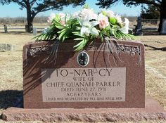 Wife of Quanah Parker. Comanche Warrior, Quanah Parker, Grave Memorials, Find A Grave, My Heritage, World History, Oklahoma Usa, Descendants, Native Americans