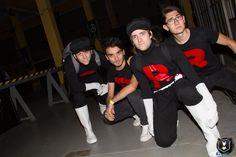 BMN guys + The Team Rocket Band guys! #TeamRocket #Pokemon #GottaCatchEmAll #GottaStealEmAll #Cosplay #ItalianCosplay #CuneoComics #CuneoComicsAndGames #CuneoCG2017 #TheTeamRocketBand