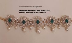 Get the best designs at value for money prices. Presenting a light range Diamonds Choker cum bajubandh. Visit for best. Contact no 8125 782 27 June 2019 Diamond Choker, Diamond Jewelry, Gold Choker, Diamond Bracelets, Diamond Pendant, Jewelry Bracelets, Gold Jewelry Simple, Gold Jewellery Design, Designer Jewellery