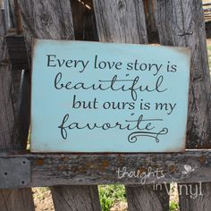 Every love story is beautiful but ours is my favourite -   I hope to finally have my own love story soon :)