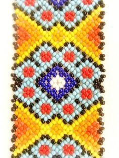 Beaded Braclets, Bead Loom Bracelets, Beaded Jewelry, Beading Tutorials, Beading Patterns, Seed Bead Projects, Native American Beading, Loom Beading, Diamond Pattern