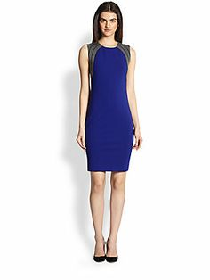 Diane von Furstenberg Hallie Jersey Sheath Dress