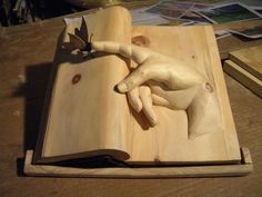 Деревянные книги Nino Orlandi