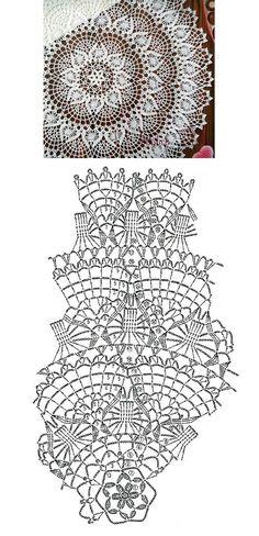 Crochet Doilies, Diy Clothes, Knitting, Lace, Throw Pillows, Bedspreads, Weaving, Mandalas, Tejidos