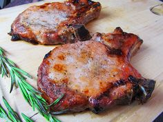 This easy recipe for baked bone-in pork chops uses only 4 ingredients and 30 minutes in the oven for an awesome meal. Perfect for weeknights!
