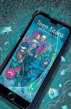 Teen Titans Vol 6 Cover B Variant Chad Hardin Cover Arte Dc Comics, Bd Comics, Batman Comics, Anime Comics, Teen Titans Love, Original Teen Titans, Teen Titans Fanart, Beast Boy, Comic Games