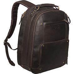 SOLO Vintage Laptop Backpack  - eBags.com