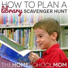 A great activity for your homechool group or co-op is a library scavenger hunt. Working with your librarian, plan a gathering for homeschoolers that includes sending the kids throughout the library to find resources, so they'll get to know the library better.