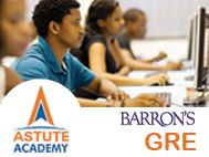 Astute Barron`s GRE Classes with Expert International Faculty. GRE Online Practice
