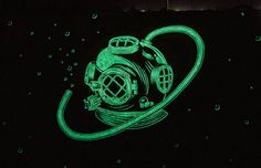 Glow-In-The-Dark Murals That Will Surprise You At Night | Bored Panda