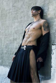 A little to skinny for my taste in kilts but I do love how the kilt guys wears him.