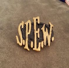Hey, I found this really awesome Etsy listing at https://www.etsy.com/listing/266448670/harry-potter-inspired-spew-badge