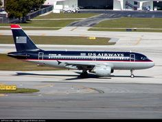 N728UW US Airways Airbus A319-100