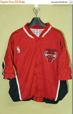 BiG SaLe Chicago Bulls Spalding Vintage 90s Training jacket NBA Basketball    Charlotte Hornets   Lakers los angeles Starter   Phoenix Suns  852a27782